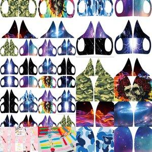 De Maskara Calavera Galaxy Maske Maschera Mimetica Verde Starry Sky İyi Kalite En İyi Satış Rahat ve Nefes Txar