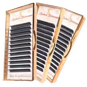 3PCS LOT Eyelash Extension Individual Eyelash Extension Faux professionals soft Silk Lashes for makeup tool
