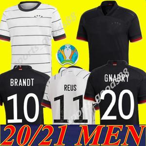 2020 년 독일 축구 유니폼 5 HUMMELS 8 KROOS 드락 슬러 (11) 레 우스 MULLER GOTZE KIMMICH 도겐 (20) (21) 남자 아이 홈 키트 축구 셔츠