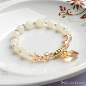 Браслеты очарования Женские PULSERas Посеребренная рука Pulseira Femme Bijoux Bead Браслеты