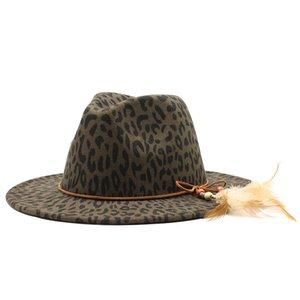 Seioum осень и зима новый стиль шерстяная шляпа Женские Плоский краёв Большой Брим Gentleman Fedora Hat