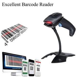 USB Barcode Scanner CCD Bar code reader Handheld 1D Barcode Scanner Bar Code Reader for P2P Computer free shipping USB Port