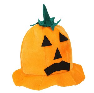 2020 Halloween Pumpkin Hats Pleuche Bucket Caps Designers Party Performance Prop Women Men Fashion Festive Gift Favor Supplies LY9272