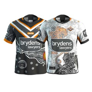 2020 Wests Tigers INDIGENOU 9s RUGBY JERSEY Size S---5XL Print custom name and number The quality is perfect