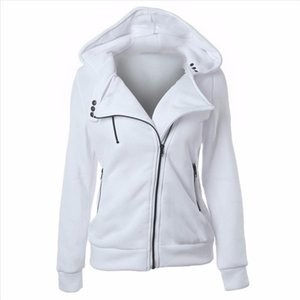 Women Sweatshirt Hoodies Red White Fashion Moletom Feminino Punk Hoody Casual Outerwear Tops Vintage Jacket Clothing Female Coat