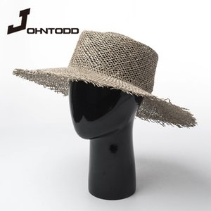 New Summer Hat Women's Wide Brim Breathable Green Straw Hat French Hollow Cool Travel Vacation Beach Sun wide brim cap