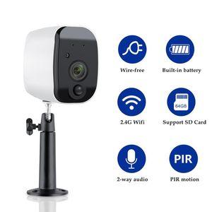 Беспроводной Wi-Fi IP-камера 1080P Встроенная аккумуляторная батарея Крытый видеонаблюдения 2MP ПИР обнаружения движения App Tosee