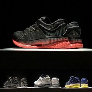 2020 Stock Tag X ASIC Gel METARIDE Respirant Chaussures de course Triple Noir Blanc froid Gris Volt Hommes Femmes Formateurs Sport Chaussures