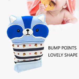 Cartoon Baby Teether Gloves Food Grade Silicone Molar Mitt Infant Children Mittens Kids Teething Gift