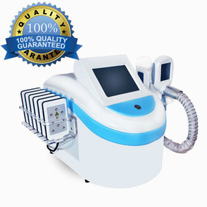 Professionelle Ein Griff Fat Freezing + 8 Pad Lipo Laser + 40K Cavitation + Multipolar Rf Fat Loss Schlankheits-Maschine