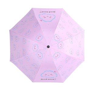Ombrello pieghevole Good Mood nube ombrello antipioggia Yada Protezione creativi sole nuvole design Yd138 Ombrellone Rainy Uv modello sqcUIR
