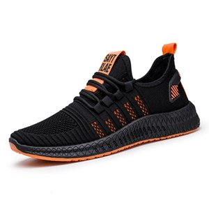 fabrika Spor ayakkabı WIENJEE Yaz Yeni Koşu 2020 Erkekler gündelik Nefes Mesh Sneakers Rahat Yürüyüş Ayakkabı Erkek OutletDesigned