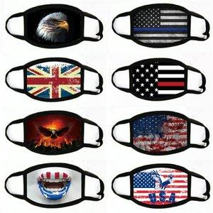 Baskı Maske Evrensel İçin Erkekler Kadınlar Amerikan Bayrağı toz geçirmez eksikliği Maskeler Amerikan Seçim Malzemeleri Parti Maskeler Maske 2020 # 659