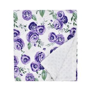 Babydecke NAP-Decken gedruckt kinderflumptige Wurfdecke weiche hautfreundliche Baby-weiche Fleece-Decken 80 * 75cm Home Textilien GWE1669