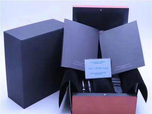 هدية بطاقة المطابقة الأصلية ورقات الأمن حقيبة الأعلى صندوق خشب ووتش لحزب الأصالة والمعاصرة صناديق كتيبات ساعات مجانية طباعة بطاقة مخصص حالة ووتش