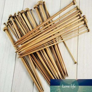 36Pcs set Bamboo Knitting Needles 18 Sizes Single Pointed Smooth Crochet Tool Sets 2.0-10.0mm