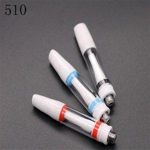 vape pen mini e cigarette cartridge all ceramic honey oil vaping tank bud touch pen glass atomizer refillable oil tank no wick tanks