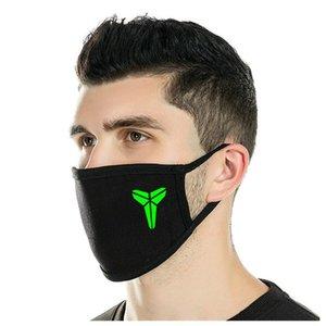 Venta de neopreno Resplandor Resplandor Artesanía en el Face Las máscaras baratas Goedkoopste Dark Skull cráneo Gran Glow Máscara buenos sitios web caliente Ekffe