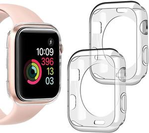 Protector de pantalla iWatch Clear Case Bumper para Apple Watch Series 2/34