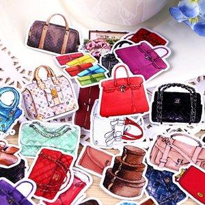wphome cosmética Tz279 Hecho PC Foto Mujeres Craft Hermosa decorativo 36 álbumes DIY de los bolsos pegatinas personal creativa Kawaii DJcla