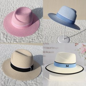 MsNSJ 2019 yaz saman şemsiye erkek ve ayarlanabilir bahar ve yaz şapka miğfer Straw şapka miğfer kadın moda moda yara siperliği wom