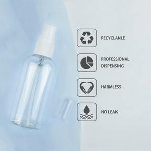 Effacer Vider DIY Hand Sanitizer Spray au poche à portée de main Mist bouteilles en plastique de taille bouteilles Mini Set bouteille Voyage pour liquide HHA1245