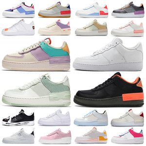 nike air force 1 shadow af1 forces airforce one zapatos de plataforma low high top sneakers shadow classic triple white mens womens casual skateboard zapatillas deportivas