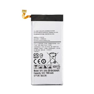 1900mAh EB-BA300ABE Phone Replacement Battery For Samsung Galaxy A3 A300 SM-A300F SM-A300FU A3000 A3009 A300X Batteies
