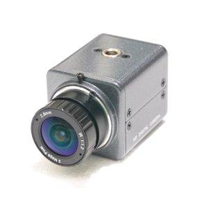 "Kosten Promotions Qualitäts-CCTV-Analogkamera 1 / 2.7"" Farb-CMOS-1200TVL MiNi Analog-Kamera-HD 2.8mm LENS CCTV"