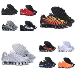 TL nuovo arrivo scarpe triple s degli uomini di esplosione arancione metallo nero argento sport all'aria aperta basso migliori scarpe casual scarpe sportive in esecuzione