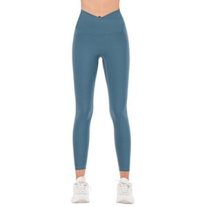 Women Leggings Solid-colored Women Yoga Pants Exercise Fitness Outdoor Running Breathable Hip High Waist Pants Yogaworld