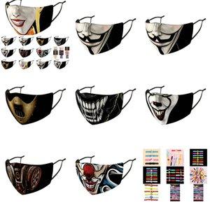 Earloop Designer Very Light regolabile e semplice maschera viso Ledger Joker Heath della copertura della cinghia maschere naso confortevole Cngns