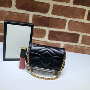 VANNOGG top quality Women 5A Marmont Online Exclusive Rafia Shoulder Bag,575161 mini size 13*9*5cm,come with Dust Bag Box DHL Free Shipping