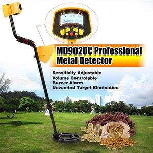 Professional Underground Metal Detector For MD9020C Treasure Gold Digger LCD Display High Sensitivity Seeking Tool