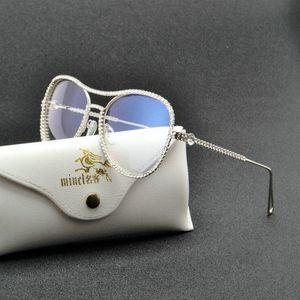 الضوء الأزرق حجب نظارات المرأة ذات جودة عالية الماس طويل النظر نظارات التقدمي موضوع التركيز نظارات القراءة FML