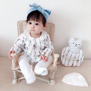 2020 Alta qualità Neonato Abbigliamento Pagliaccetti Autunno Inverno Cotton Kidsuits