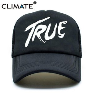 CLIMATE Men Women New Trucker Caps AVICII TRUE Hot Music DJ Caps Hot Summer Music AVICII Fans Baseball Mesh Net Trucker Cap Hat