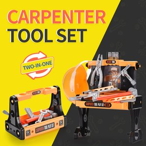 Simulation carpenter tool set toy Simulation repair tools toy Kid Fun Playhouse toy Baby Boy Gift