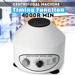 كفاءة 800D 4000rpm توقيت الكهربائية اجهزة الطرد المركزي الممارسة آلة الطرد المركزي سطح المكتب