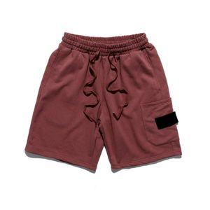 Shorts Moda Carta dos homens bordado Calças Curtas 20s dos homens Verão Casual Men respirável joelho Top Quality Shorts 2 cores M-2XL