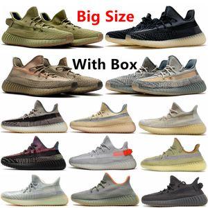 Cinder réfléchissant yeezy boost 350 v2 yeezy 350 Hommes Chaussures de course Yecheil Zebra Bleu Tint statique désert Sage Terre Sports de plein air Chaussures