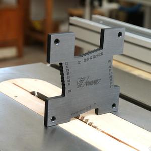 2pcs haute précision Toise Routeur Travail du bois Tableau électrique circulaire scie de la machine de gravure de mesure Règle outil