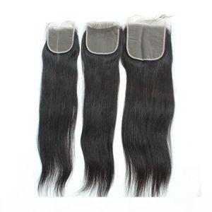 Бразильская прямые волосы Top Lace Closure Богородица человеческих волос Transparent шнурка Затворы Pre щипковых HD Lace Frontals 5X5 6X6 2X6 4X4 13x6 13X4
