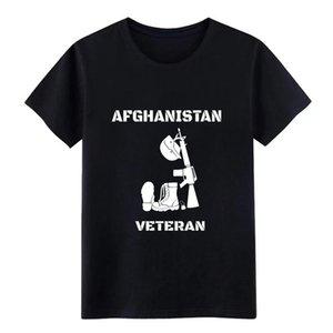 Afghanistan veterano uomo - Afghanistan veterano della maglietta progettista manica corta Euro Size S-3XL solido camicia costruzione Carino base