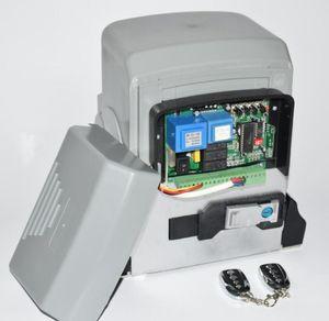 GALO 1000W Automatic GSM deslizante Portão abridor de motor kit 6m 7m prateleiras Hardware com keyfobs para Sliding Portões até 2500 kg