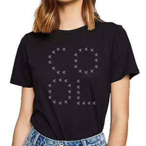 Tops mujeres de la camiseta fresca reina rey leidenschaft amor landschaftsgaert Básico Negro personalizado Mujer camiseta