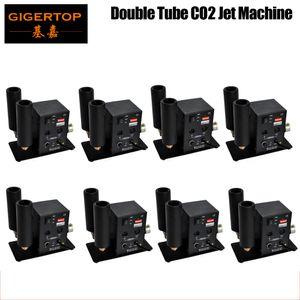 8pcs / lot Dióxido Etapa Co2 Jet máquina DMX 2CH carbono Disco efecto Jet CAÑÓN Co2 DJ GUN | Niebla, humo, Jet, Cryo niebla | EEUU Stock TP-T27B