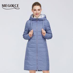 MIEGOFCE New Design Spring Jacket Women's Coat Windproof Warm Female Parka European and American Female Model Women's Coat 200917