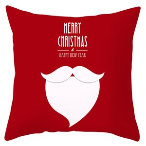 Pillow Nordic Living Room Sofa Cotton Linen Cushion Bedside Seat Christmas Pillow Skin-friendly Soft Christmas Gift Novelty