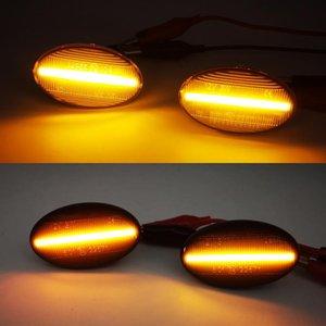 1pair İçin Akıllı W450 W452 A-Class W168 Vito W639 W447 W415 LED Araç Side Marker Işıklar Sinyal Lambaları
